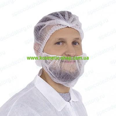 Одноразова захисна маска медична для бороди