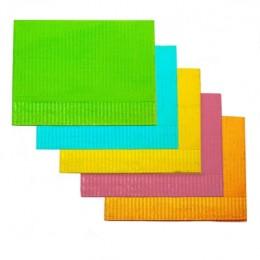 Серветки стоматологічні 45х32 см (125 шт / уп) з ламінованого паперу