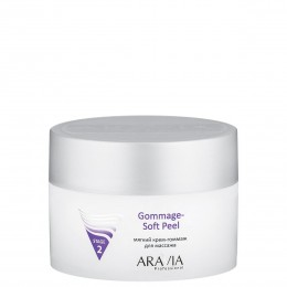 Крем-гоммаж м'який для масажу Gommage Soft Peel, 150 мл, ARAVIA Professional