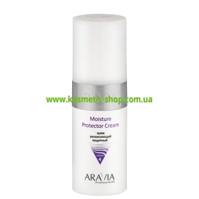 Крем зволожуючий захисний Moisture Protector Cream, 150 мл, ARAVIA Professional