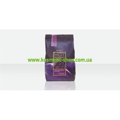 Віск гарячий плівковий в гранулах Слива, 1 кг. ItalWax