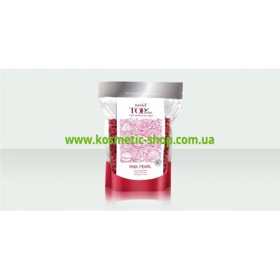 Віск гарячий синтетичний плівковий ТОП формула Рожеві Перли 750 гр. ItalWax